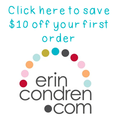 Click here to save $10 on your first Erin Condren purchase!
