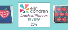 Erin Condren Teacher Lesson Planner Review – 2016
