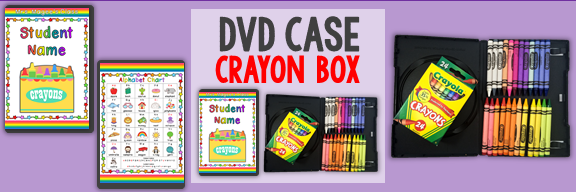dvd crayon box